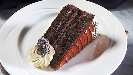 Gluten-Free Blackberry Cake