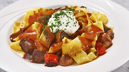 Pot Roast Pappardelle