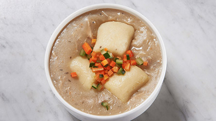 Smoked Chicken and Gnocchi Soup