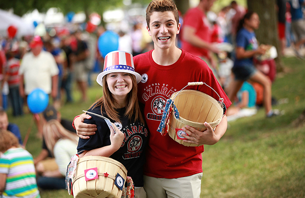 Students celebrate Honor America